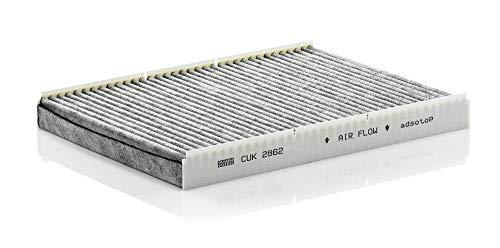 Originale MANN-FILTER Filtro Abitacolo CUK 2862 – Filtro Antipolline con carboni attivi – Per Auto