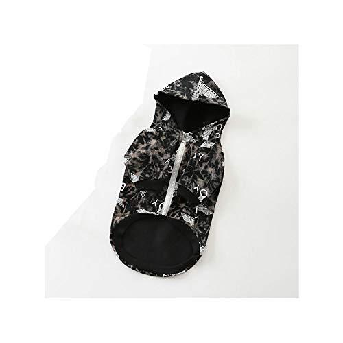JDXRG Dog Sweater - hondenjas, katoenen fabricage/patroon decoratie / 2 legs lente en zomer huisdieren kleding, geschikt voor kleine en middelgrote huisdieren