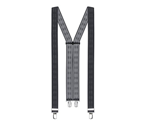 LLOYD Hosenträger Herrenhosenträger Grau 2895, Farbe:Grau, Länge Hosenträger:120 cm