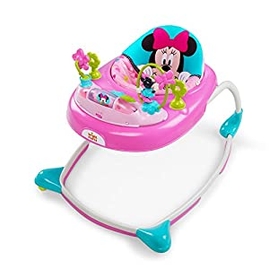 Bright Starts Minnie Mouse Walker with Wheels & Activity Center
