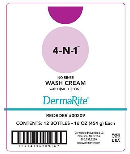 Dermarite Industries 4-n-1 Bottle With Pump