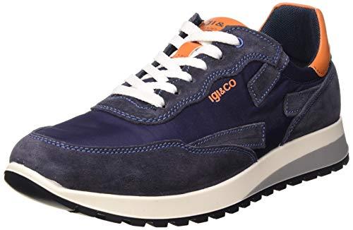 IGI&CO Scarpa Uomo URO 51274, Sneaker, Blu (Jeans 5127422), 42 EU