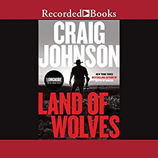 Land of Wolves audiobook cover art