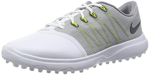 Nike Lunar Empress 2 Golfschuhe für Damen, (Weiß/Anthrazit/Cool Grey), 39 EU
