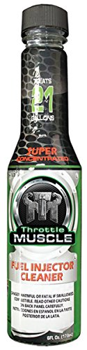 Throttle Muscle Super Concentrated Fuel Injector Cleaner