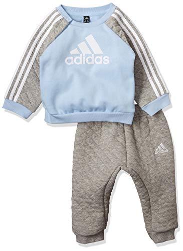 adidas Performance Jungen Jogginganzug zweiteilig grau (231) 80