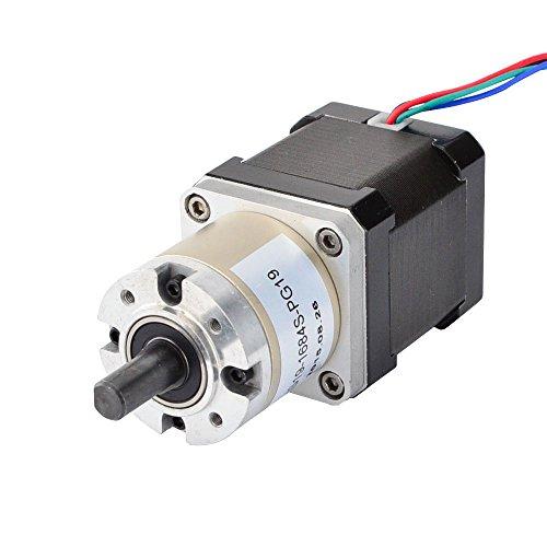 STEPPERONLINE Nema17 Getriebemotor 1.68A 19:1 planetengetriebe getriebe Schrittmotor CNC 3D Drucker