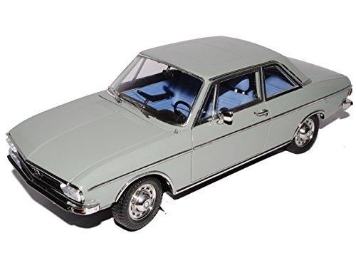 Signature Models A-U-D-I 100 LS 1972 Coupe Grau C1 1/18 Modell Auto mit individiuellem Wunschkennzeichen