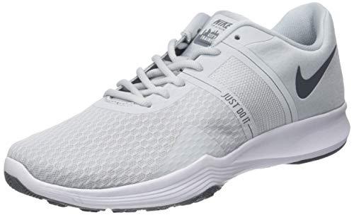 Nike Wmns City Trainer 2, Zapatillas de Gimnasia Mujer, Dorado (Pure Platinum/Cool Grey 010), 37.5 EU
