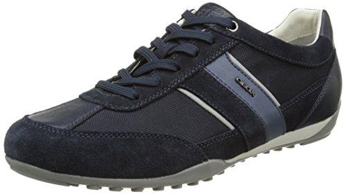 Geox U Wells C, Zapatillas Hombre, Azul (Navy C4064), 41 EU