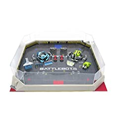 Modeled after television's hit series BattleBots comes the HEXBUG BattleBots Arena Pro. With over 100 possible configurations, BattleBots robotic tech toys are designed for boys and girls ages 8 and up. With over 100 possible configurations, BattleBo...
