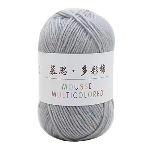 Yarn for Crocheting Simply Soft Chunky Yarn Skeins 1.76 Ounce(50g) Baby Blankets, Woven Multicolor Knitting and Crochet Yarn Bulk DIY Handcrafts Supplies Starter Kit