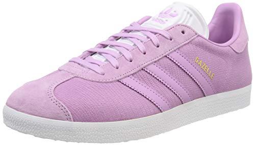 adidas Gazelle W, Zapatillas Mujer, Morado (Clear Lilac/Clear Lilac/Footwear White 0), 40 EU