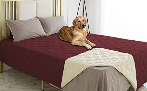 Ameritex Waterproof Dog 高品質 Bed 激安通販専門店 Cover with Bac Pet Anti-Slip Blanket