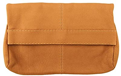 "Michael Kors ""hutton"" Collection Foldover Clutch Bag Leather RRP £610 Tan"