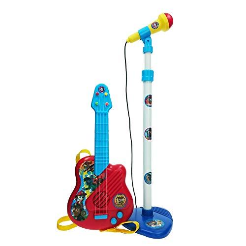 Reig Nickelodeon Set Micro et Guitare Paw Patrol, 2510