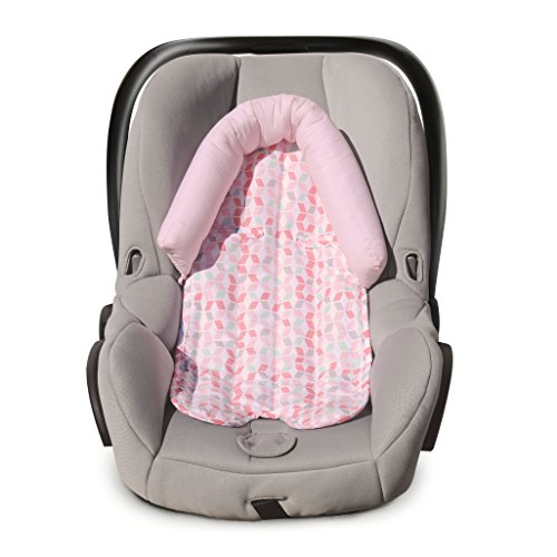 Learn More About Carter's Infant Head Support for Carseats, Stollers, Swings Lattice, Grey/White