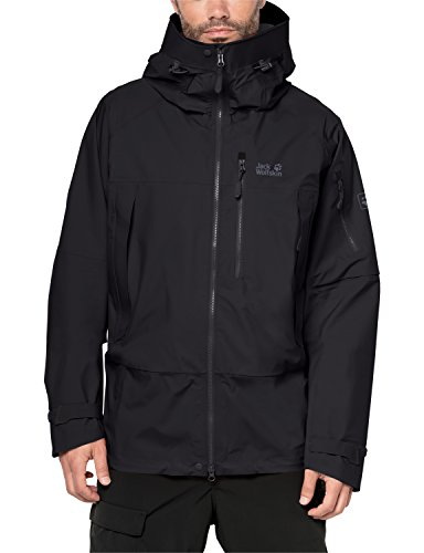 Jack Wolfskin Herren The Humboldt Jacket Winterjacke, Black, XL
