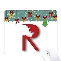 シルエットの強さ ゲーム用スライドゴムのマウスパッドクリスマス