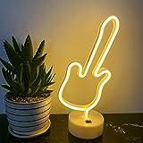 ENUOLI Led Neon Signs guitarra luces decorativas caliente llevado blancas luces...