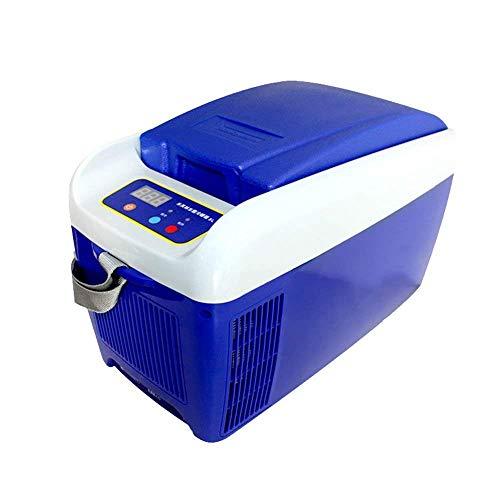 ZHTY Refrigerador de Coche Mini portátil 5L Nevera Congelador Congelador Calefacción TG Inicio Coche Turismo Camping Picnic Accesorios para Coche Refrigeradores