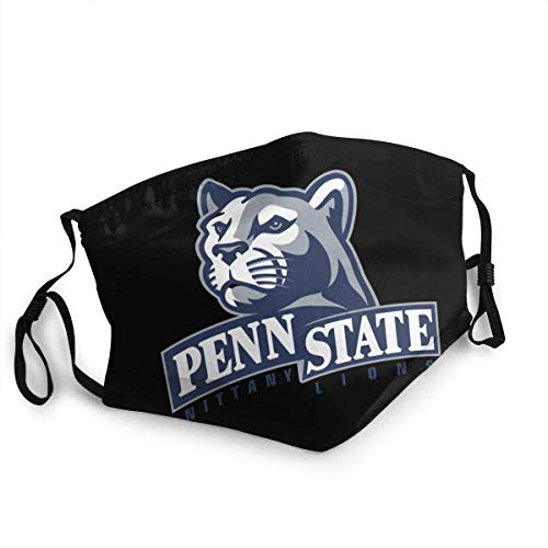 Penn State Nittany Lions made in USA Women & Men Washable Reusable and Adjustable Filter Dust Face Mask