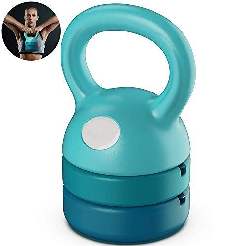 MJ-Brand Bauch Kettlebell Unisex Slim Waist Einstellbares Gewicht 5-12Lb Hanteln 26 * 14.5CM für Rückenmuskel Arm Brustmuskeltraining Feste Brüste