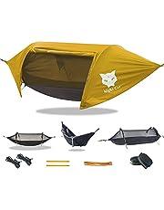 Night Cat Hangmat Swing Tent met klamboe en waterdichte regenvlieg draagbaar voor één persoon outdoor wandelen camping en tuin achtertuin