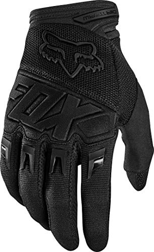 Fox Racing Mens DIRTPAW Motocross Glove,Black/Black - Race,2X