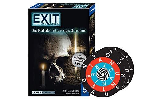 Collectix EXIT - Das Spiel: Die Katakomben des Grauens (Level: Fortgeschrittene) + 1x Word-A-Round Minispiel