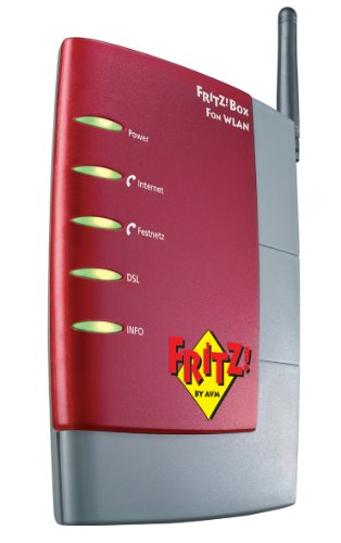 AVM FRITZ!Box Fon WLAN 7170 Wireless LAN und VOIP Box 1&1 Edition