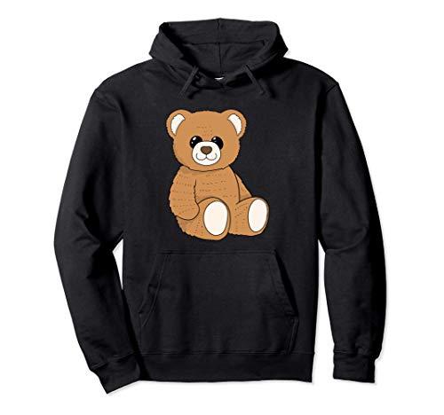 Süßer Teddybär I Kuscheltier I Bären Plüschtier Pullover Hoodie