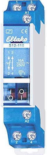Eltako 1393713 ELTA S12-110-24V Stromstossschalter, 1S 1Ö 16 A, 24 V AC S12-110-24 V