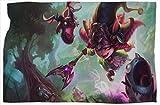 Dragon Trainer Lulu League Legends - Manta de acampada (127 x 152 cm)