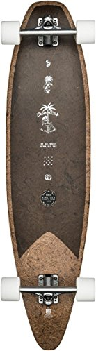 Globe Pinner EVO Longboard, Unisex Adulto, marrón (Coconut/Negro), 40'