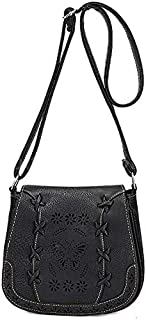 Fashion Black Shoulder Bag For Women Hollow Butterfly Crossbody Bag Summer Style Ladies HandBag