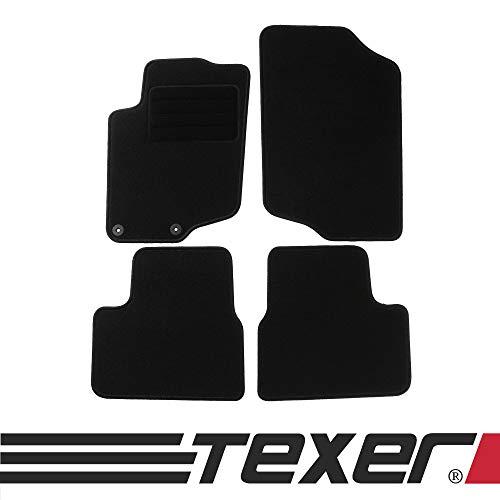 CARMAT TEXER Textil Fußmatten Passend für Peugeot 207 Bj. 2006-2012 Basic