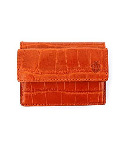 [フェリージ] 三つ折り財布 ミニウォレット コンパクトウォレット 1031/SA ORANGE(009) F(フリー)