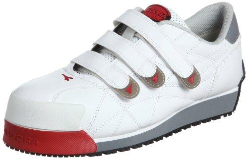 [ディアドラユーティリティ] 作業靴 スニーカー アイビス IB11 ホワイト 25.5 cm