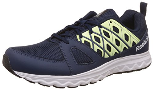 Reebok Men's Run Sharp Coll Navy/Electric Flash Running Shoes - 7...