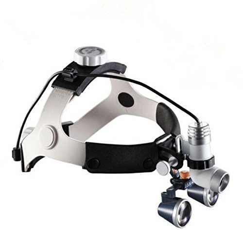 3W Dental Surgical Headlight Medical Headlight Lamp KD-202A-3 + 2.5X Magnifier