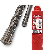 SCHWABENBACH ® SDS Plus borr 12 mm x 460 – betongborr – exakt och snabb borrning i betong – förstklassig kvalitet med hårdmetall spets – stenborr lång – ingen krok i armeringjärn 12 x 460 mm