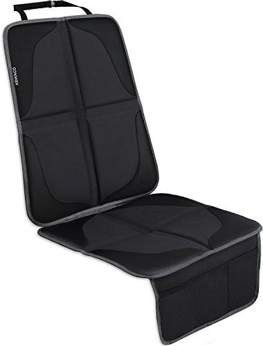 KEWAGO Premium Kindersitzunterlage, Autositzauflage - Autositzschoner ISOFIX geeignet. Autositz Unterlage, Schutzunterlage. Universal Sitzunterlage für Kindersitz und Babyschale