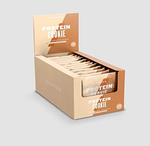 MYPROTEIN プロテインクッキー 75g×12枚入り (ホワイトチョコアーモンド)