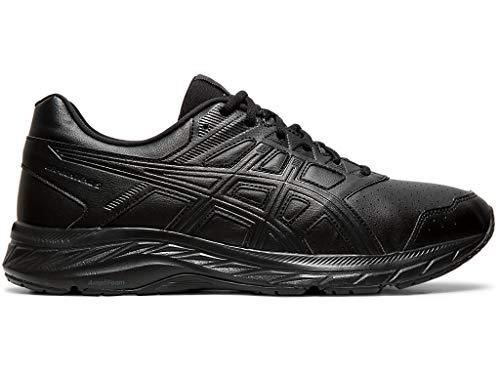 ASICS Men's Gel-Contend 5 SL Walker Shoes, 10.5M, Black/Graphite Grey