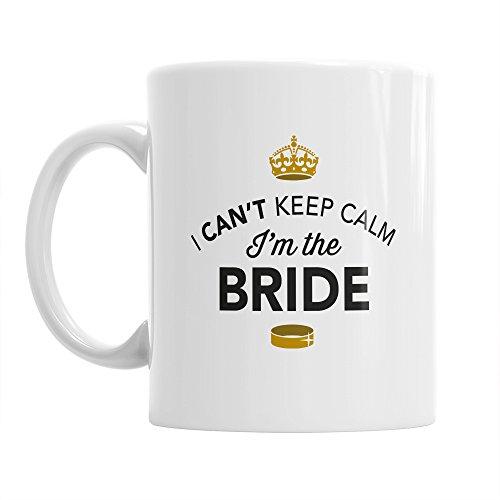 Braut Geschenk Kaffee Teebecher Lustige Hochzeit Hen Night Bride Andenken zu sein
