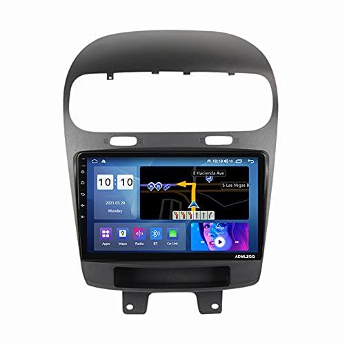 ADMLZQQ para Dodge Journey 2011-2020 Android 10.0 Car Stereo Radio Multimedia MP5 Player, Pantalla Táctil De 9 Pulgadas, Bluetooth Carplay WiFi FM Am Dual USB DSP Cámara Trasera,M600s 8core 6+128g