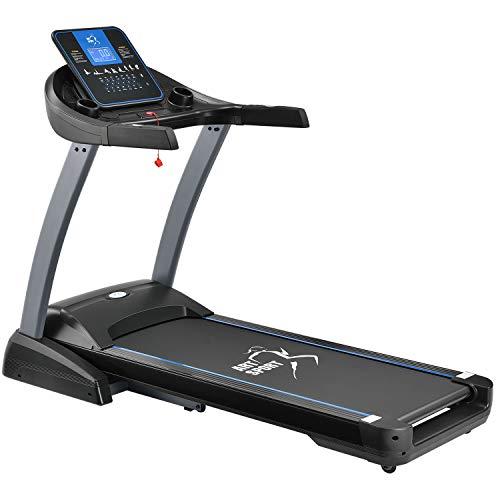ArtSport Laufband Speedrunner 7000 klappbar mit Kinomap-Funktion, 3 PS Motor, 22 km/h, 48 Programme – Heimtrainer elektrisch LCD Display & Steigung