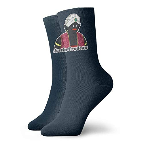 Adamitt Trudeau - Lustige Meme Unisex Crew Mode Neuheit Socken Kleid Socken Lustige Socken