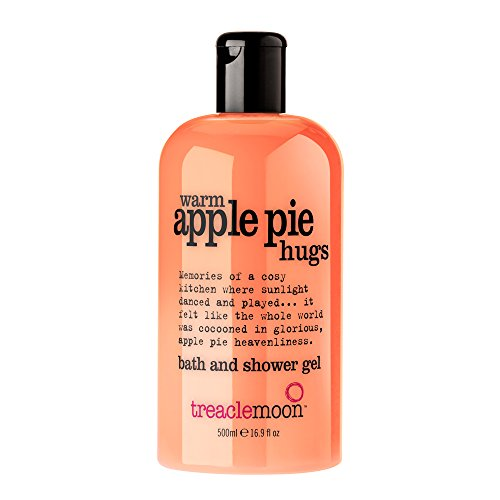 Treaclemoon bath and shower gel warm apple pie hugs 500 ml/Englische Version